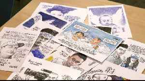 Nicaraguan cartoonist resists government crackdown through art [Video]