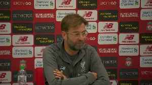 Klopp says he expected solid start to season, now taking one game at a time [Video]