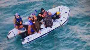 UK border authority: 40 migrants cross English Channel to Britain [Video]