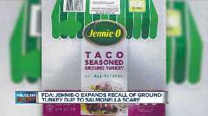 Jennie-O Expands Recall of Ground Turkey Due to Salmonella Scare [Video]