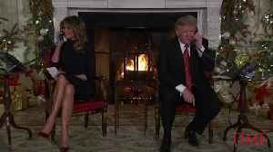 Believing in Santa at Seven Is 'Marginal, Right?' The Trumps Take Calls From Kids on Christmas Eve [Video]