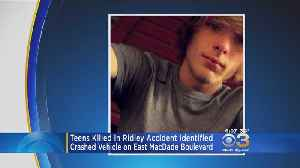 2 Families Mourn Loss Of Teenage Boys In Delaware County Crash That Split Car In Pieces [Video]