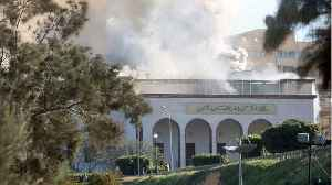 News video: Several Dead After Suicide Attack On Libyan Foreign Ministry