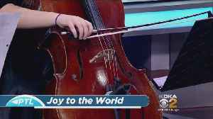 Three Rivers Young People's Orchestra Preforms 'Joy To The World' [Video]