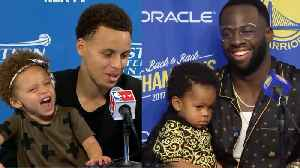 BEST NBA Post Conference Kids Moments! [Video]