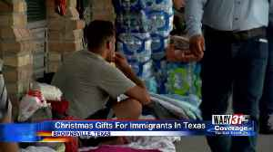 Christmas Gifts for Immigrants in Texas [Video]
