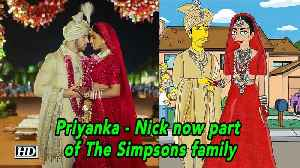 Priyanka - Nick now part of The Simpsons family [Video]