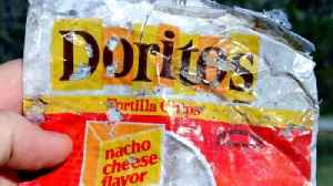 40-Year-Old Doritos Bag Washes Ashore in North Carolina [Video]