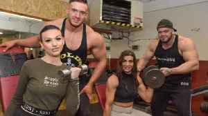 Is this UK's fittest family? Beauty pageant winner thanks body building parents for success [Video]