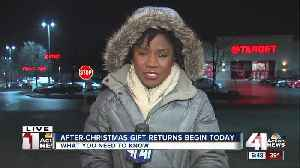 What you need to know before returning holiday gifts [Video]