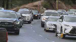 News video: White Christmas In Running Springs Causes Traffic Headaches
