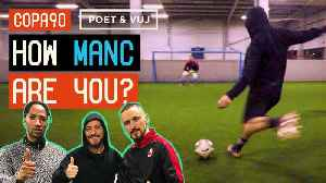 David Silva - How Manc Are You? | Shooting Challenge ft. Poet and Vuj [Video]