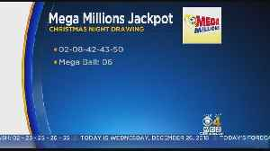 No Winner In Mega Millions Christmas Day Drawing; Jackpot Rises To $348M [Video]