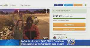 GoFundMe Refunds $400,000 Donated In Alleged Homeless Scam [Video]