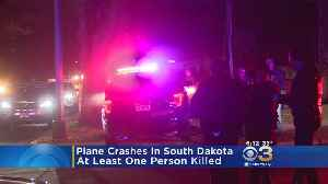 1 Dead After Plane Crashes in South Dakota [Video]