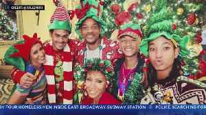 Celebrities Show Off Christmas Celebrations On Social Media [Video]