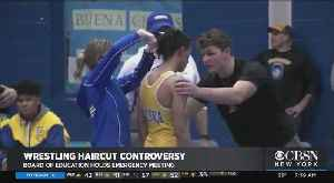 Board Of Education To Hold Emergency Meeting On Wrestler Haircut Controversy [Video]