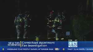 Early Morning Fire At Carmichael Apartment Complex [Video]