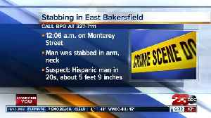 Man stabbed in East Bakersfield overnight [Video]