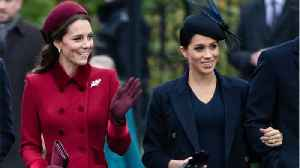 Meghan Markle And Kate Middleton Were All Smiles At Christmas [Video]