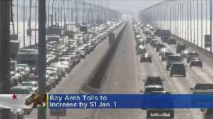 Tolls On 7 San Francisco Area Bridges To Increase By $1 Come Jan. 1 [Video]