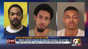 3 arrested in gender reveal party shooting [Video]