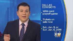 Tickets Remain For Cowboys First Round Playoff Game In Arlington [Video]