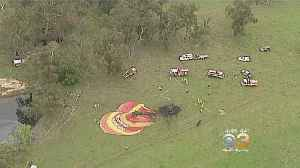 Hot Air Balloon Makes Emergency Landing In Australia [Video]