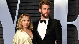 Miley Cyrus Appears To Confirm Marriage To Actor Liam Hemsworth [Video]