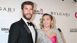 Miley Cyrus And Liam Hemsworth Seem To Have Finally Tied The Knot [Video]