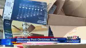 Preventing Post-Christmas Theft [Video]