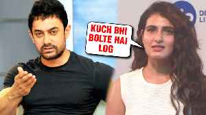 Fatima Sana Shaikh FINALLY BREAKS SILENCE On Affair With Aamir Khan [Video]