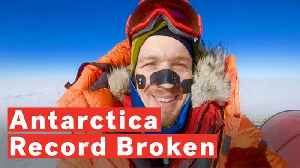 Colin O'Brady Becomes First Man To Travel Across Antarctica Unaided And Alone [Video]