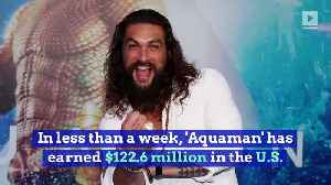 'Aquaman' Swims Past $600 Million Mark at the Global Box Office [Video]