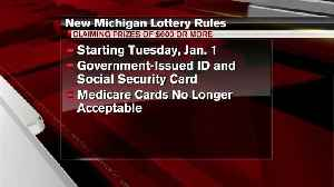 Government-issued ID, Social Security card required to claim Michigan Lottery prizes over $600 [Video]