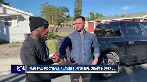 Gerald Hearns driven to succeed on and off the football field [Video]