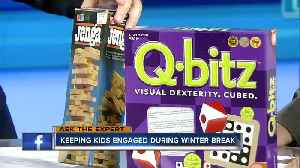 Ask the Expert: Keeping kids engaged during break [Video]
