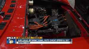 Latest in electric vehicles on display at SD Auto Show [Video]