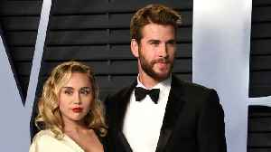 Miley Cyrus And Liam Hemsworth Officially Married [Video]