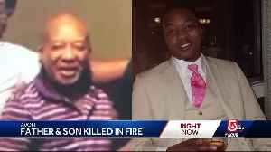 Father, son killed in fire remember for their dedication, devotion to family [Video]