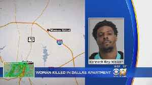 Man Charged With Murder, Admits To Stabbing Woman To Death In Dallas [Video]