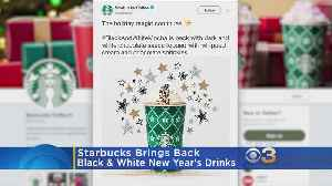 Starbucks Brings Back Special New Year's Drink Collection [Video]