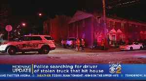 Police: Suspect Stole Truck, Ran From Police, Crashed Into Hill District Home [Video]