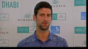 Djokovic hopes for continued success in 2019 [Video]