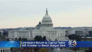Lawmakers Attempt To Reach Budget Deal At Capitol [Video]