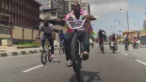 Nigerian BMX pioneers take on streets of Lagos [Video]