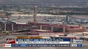 New flights, routes at McCarran to help boost local economy, ease travel [Video]
