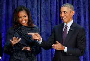 Barack and Michelle Obama Named America's Most Admired Man and Woman [Video]