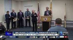 Anne Arundel County ending jail immigration screening contract [Video]