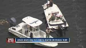 Two rescued, one still missing after boat sinks in Myakka River, FWC says [Video]